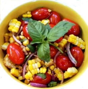 Tomato Sweet Corn Salad ws