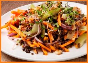Winter Sweet Potato Salad