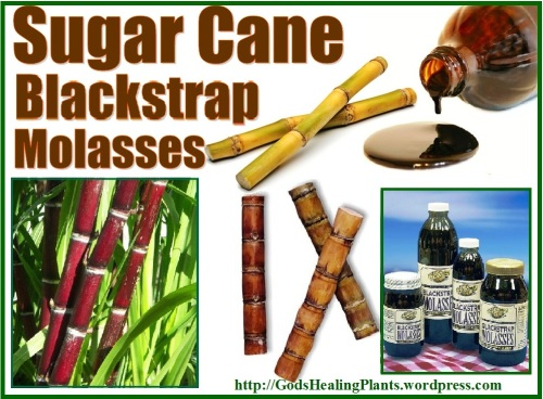 sugar cane black strap molasses