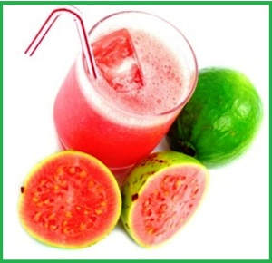 Fresh Guava Juice with natural fruits .