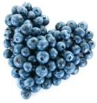 Blueberry heart