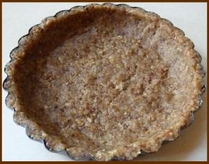 Date pie crust