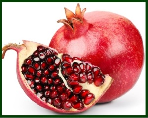 Pomegranate - seeded apple