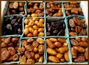 variety of dates