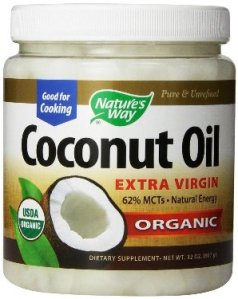 Coconut oil bottle