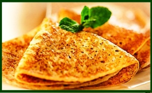 Pancakes cooked with coconut oil