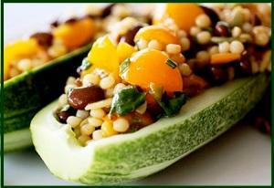 Cucumber  Tex-Mex Grains Salad