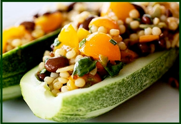 Cucumber  Tex-Mex Grains Salad