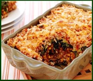brown rice cassarole