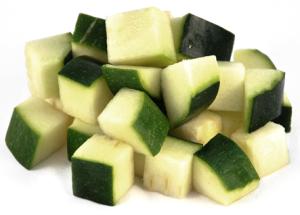 Diced Zucchini