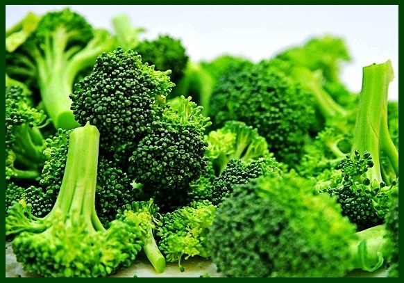 Broccoli pieces