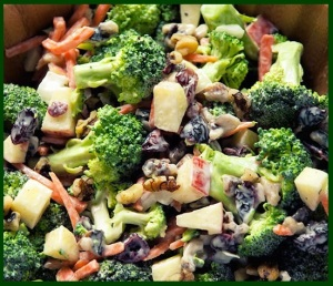 R4 - broccoli-apple-raisin-nut salad