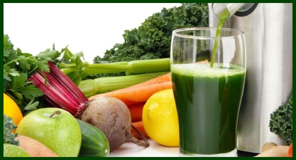 Juicing greens