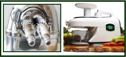 Masticating juicer 4
