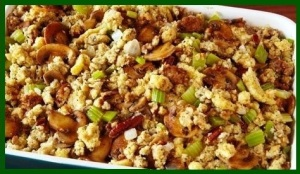 Oat meal stuffing