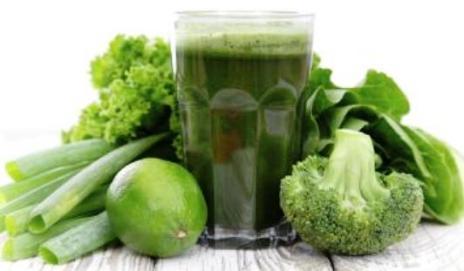 Juice and clorophyl