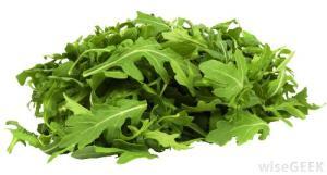 Argula leaves