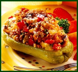 chayote stuffed