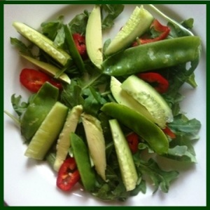 avocado-snowpea-salad