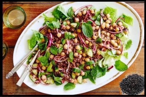 cumin-chickpea-lentil-salad